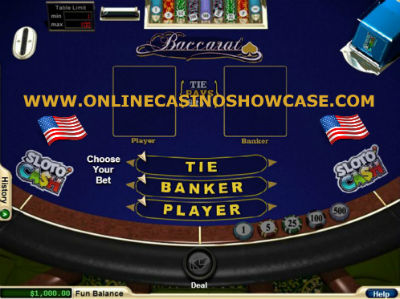 baccarat games for US players
