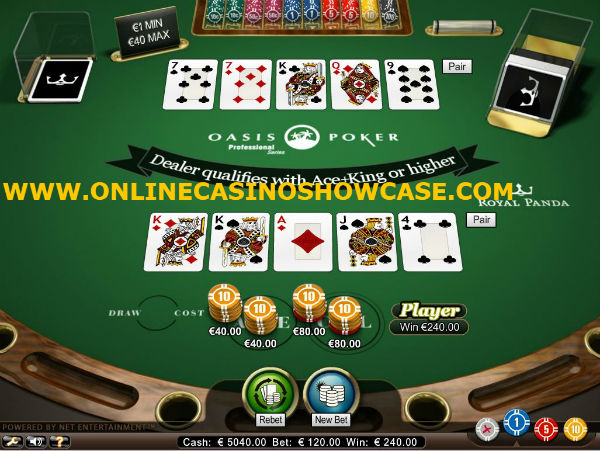 oasis poker royal panda casino