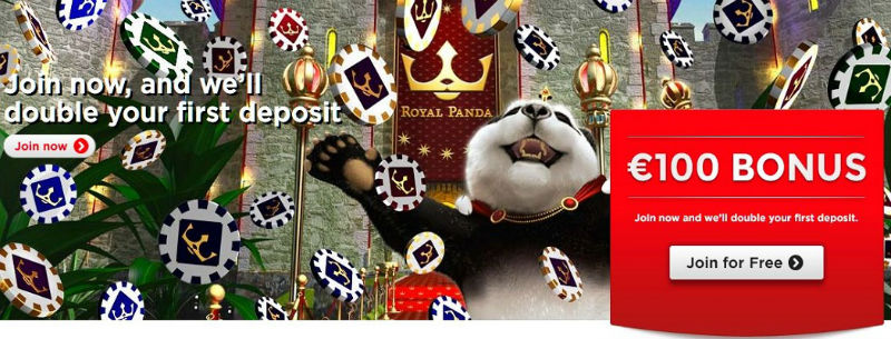play at royal panda casino