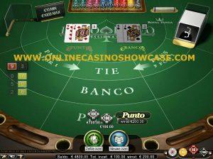 Punto banco casino stock