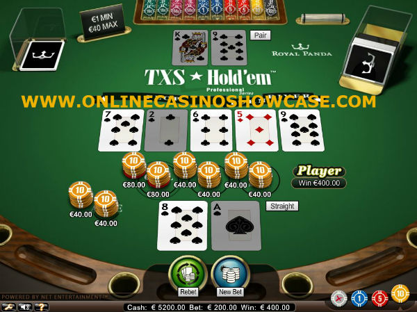 Poker Games at Online Casinos - Hold'Em, Omaha, Pai Gow, Carribean Stud