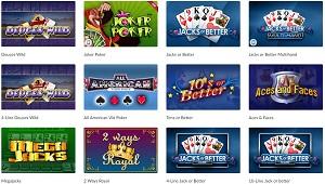 video poker mansion casino
