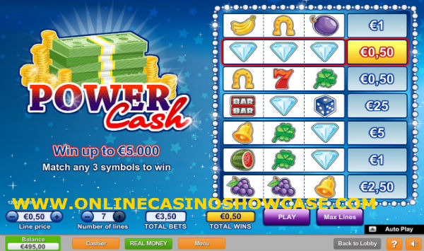 power cash scratch card