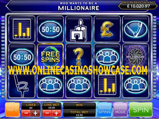 branded slot who wants to be a millionaire